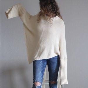 Newport News Asymmetrical sweater 🔵🔵🔵